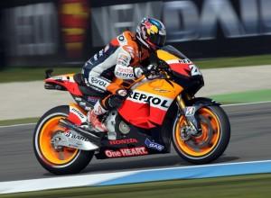 MotoGP Assen, Warm Up: Pedrosa davanti a Lorenzo e Stoner