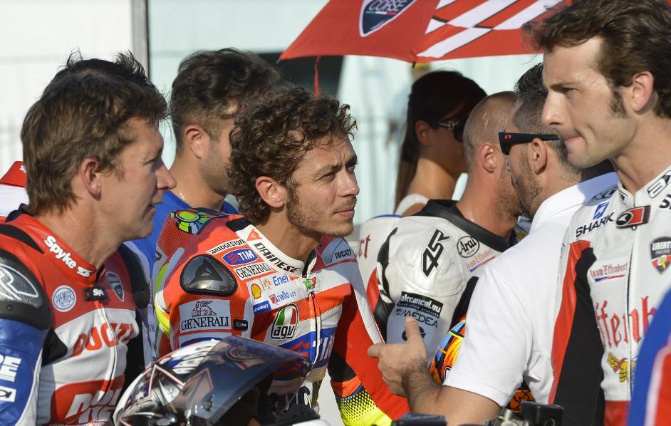 """MotoGP: Valentino Rossi """"Sarebbe bello continuare con Ducati, i suoi tifosi sono speciali"""""""