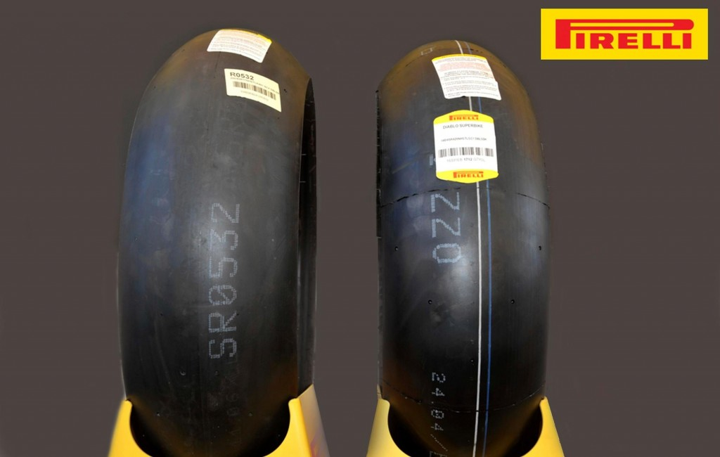 Superbike Test Aragon: primo test positivo per i nuovi pneumatici Pirelli da 17 pollici