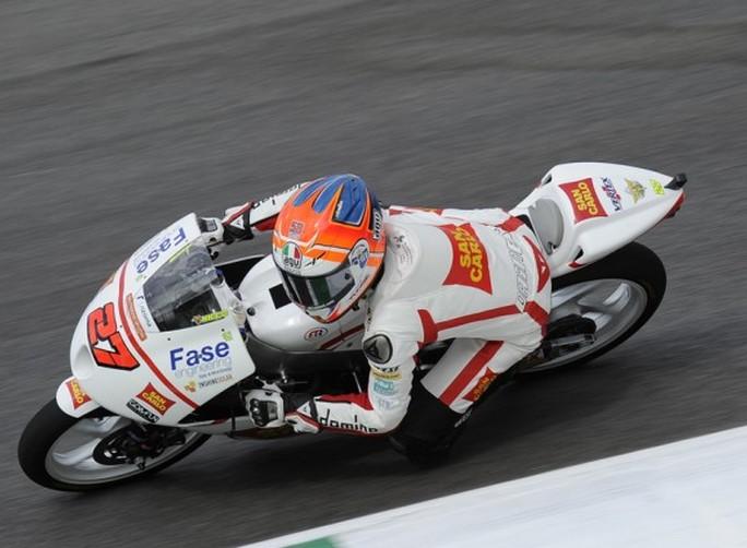 """Moto3 Mugello, Qualifiche: Niccolò Antonelli """"La seconda fila non è male e ho un buon ritmo gara"""""""
