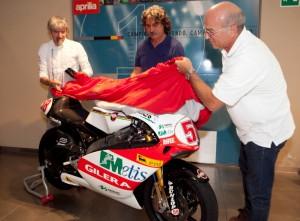 MotoGP: L'Aprilia dona alla Fondazione Simoncelli la Gilera con cui Marco vinse il mondiale 2008