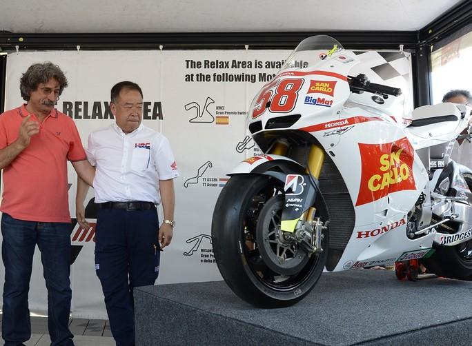 MotoGP: La Honda regala la moto del Sic ai suoi genitori