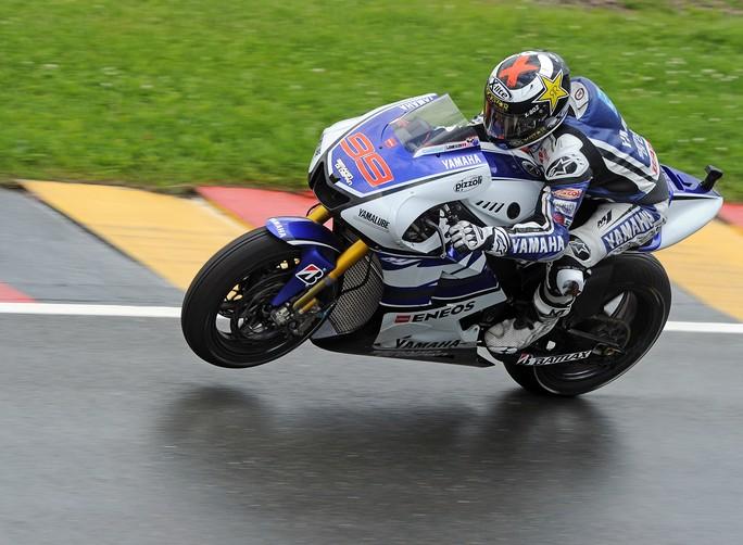 """MotoGP Sachsenring, Qualifiche: Jorge Lorenzo """"Ho un bel passo sia sull'asciutto che sul bagnato, ma gli altri oggi andavano troppo forte"""""""