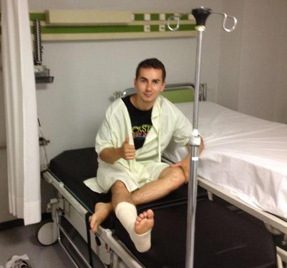 """MotoGP: Jorge Lorenzo """"Potrò correre domenica…meno male!"""""""
