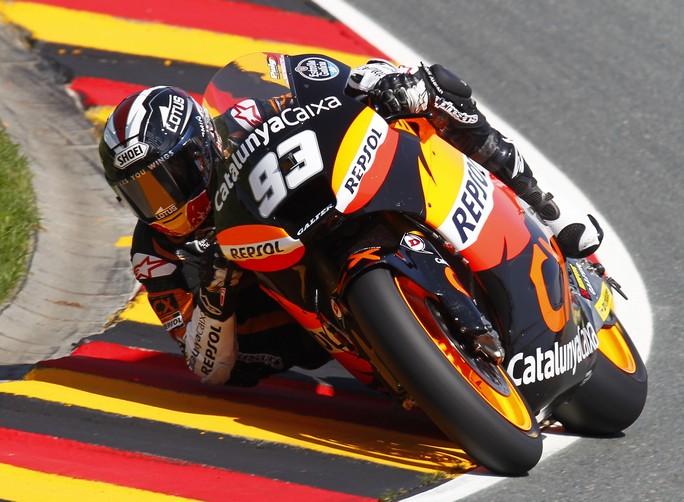 Moto2 Sachsenring: Marquez domina e punta il mondiale