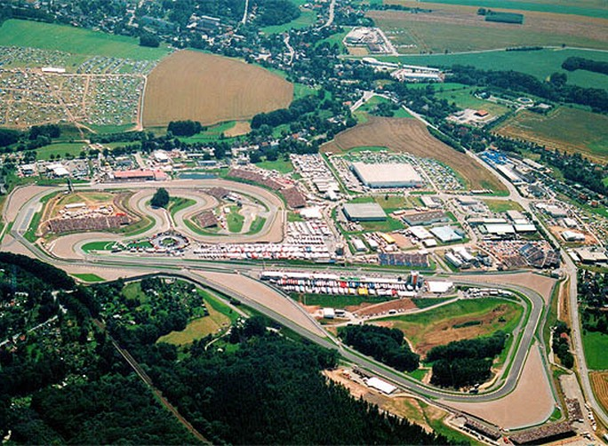 Circuito Sachsenring : Motogp sachsenring la pista e i record