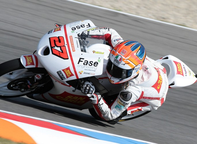 """Moto3 Brno, Prove Libere: Niccolò Antonelli """"Sono molto contento, se non chiudevo il gas potevo fare ancora meglio"""""""