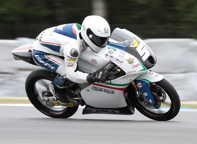 """Moto3 Brno, Qualifiche: Romano Fenati """"La scivolata a metà turno mi ha messo fuori gioco"""""""