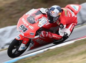 Moto3 Brno, Warm Up: Folger è il più veloce sotto la pioggia