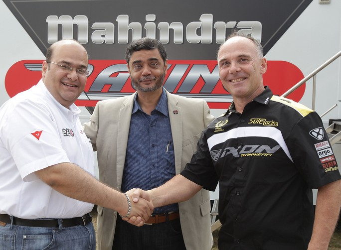 Moto3: Mahindra e Suter insieme dal 2013