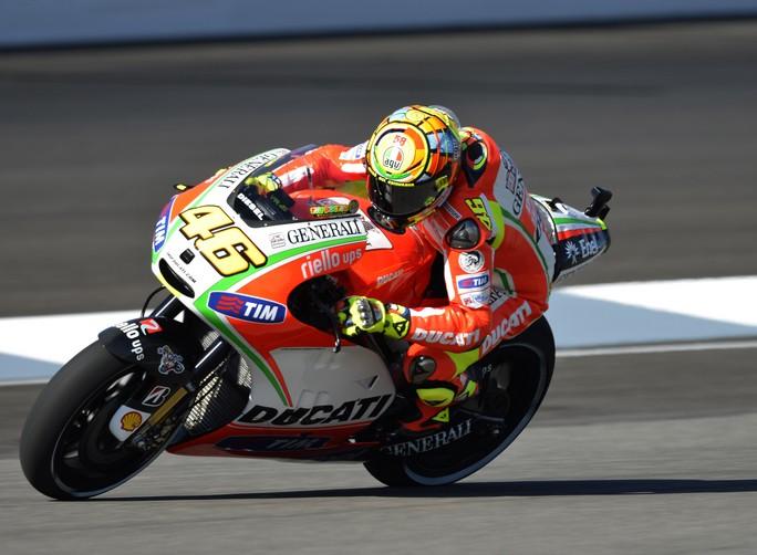 """MotoGP Indianapolis, Prove Libere: Valentino Rossi """"Facciamo fatica ad inserire la moto in curva"""""""
