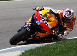 """MotoGP Indianapolis, Prove Libere: Casey Stoner """"È stato un turno un po' deludente"""""""