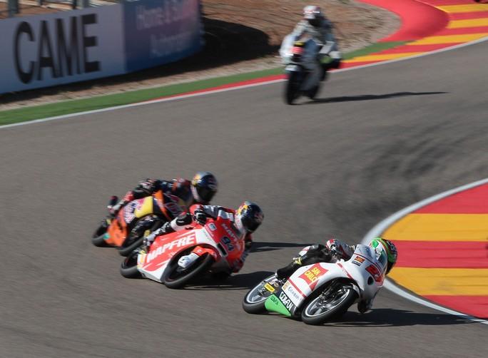 """Moto3 Aragon: Niccolò Antonelli """"Oggi credo di aver dimostrato di potermela giocare"""""""