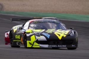 Blancpain Endurance Series: Valentino Rossi soddisfatto della prestazione del Nurburgring