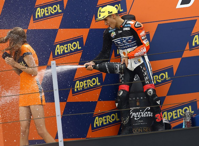 Moto3: Nel 2013 Luis Salom sostituirà Sandro Cortese in sella alla KTM