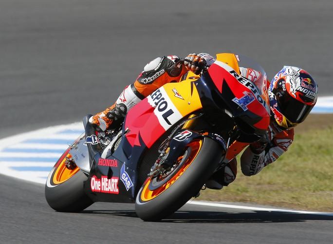 MotoGP Phillip Island, Prove Libere 2: Impressionante Stoner