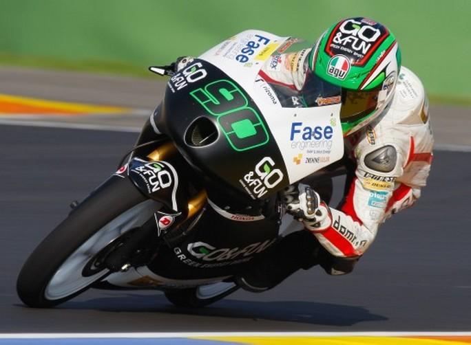 Moto3: Niccolò Antonelli velocissimo sul circuito di Almeria
