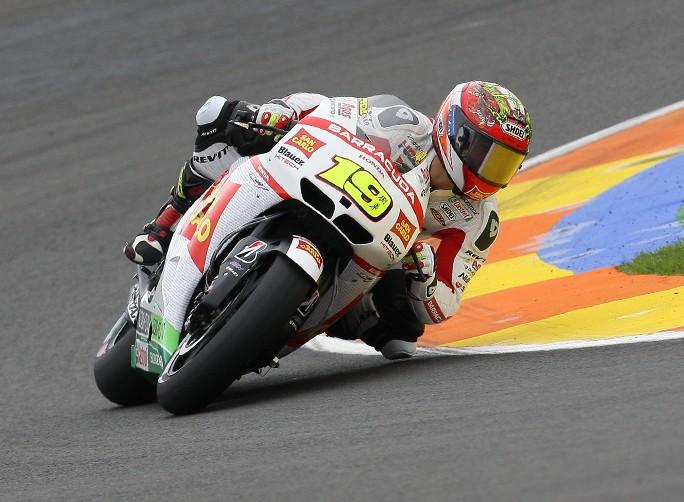 """MotoGP Valencia Gara: Alvaro Bautista """"Il 2012 è finito, sono felice di restare anche nel 2013 in questo team"""""""