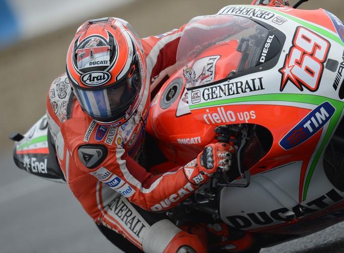 """MotoGP: Nicky Hayden """"Oggi il meteo non è stato clemente"""""""