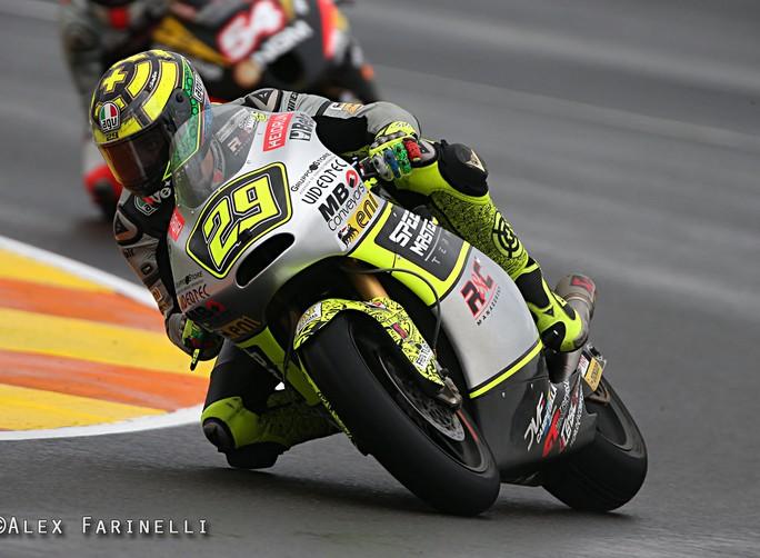 """Moto2 Valencia: Andrea Iannone """"Mi dispiace concludere la stagione in questo modo"""""""