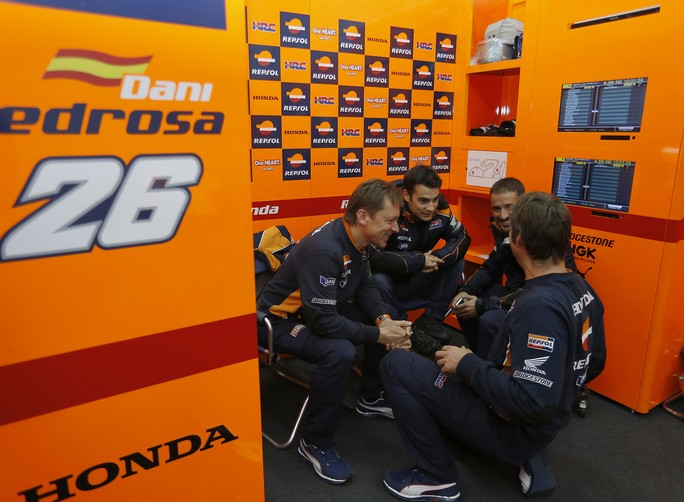 """MotoGP: Test Valencia Day 1, Dani Pedrosa """"Domani meteo permettendo vorrei provare la moto 2013"""""""
