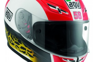 AGV Simoncelli Tribute Helmets