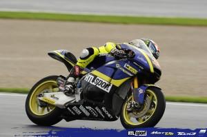 Moto2 Valencia, Warm Up: Bradley Smith davanti a Dominique Aegerter