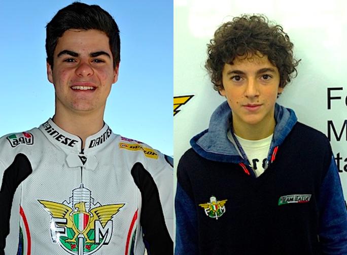 Moto3: Team Italia con Fenati e Bagnaia nel 2013