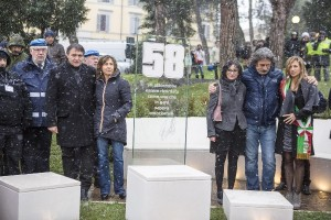 MotoGP: La neve non ferma l'inaugurazione del museo e del monumento dedicati a Marco Simoncelli