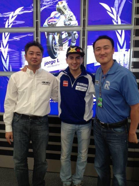 MotoGP: Casco HJC per Jorge Lorenzo