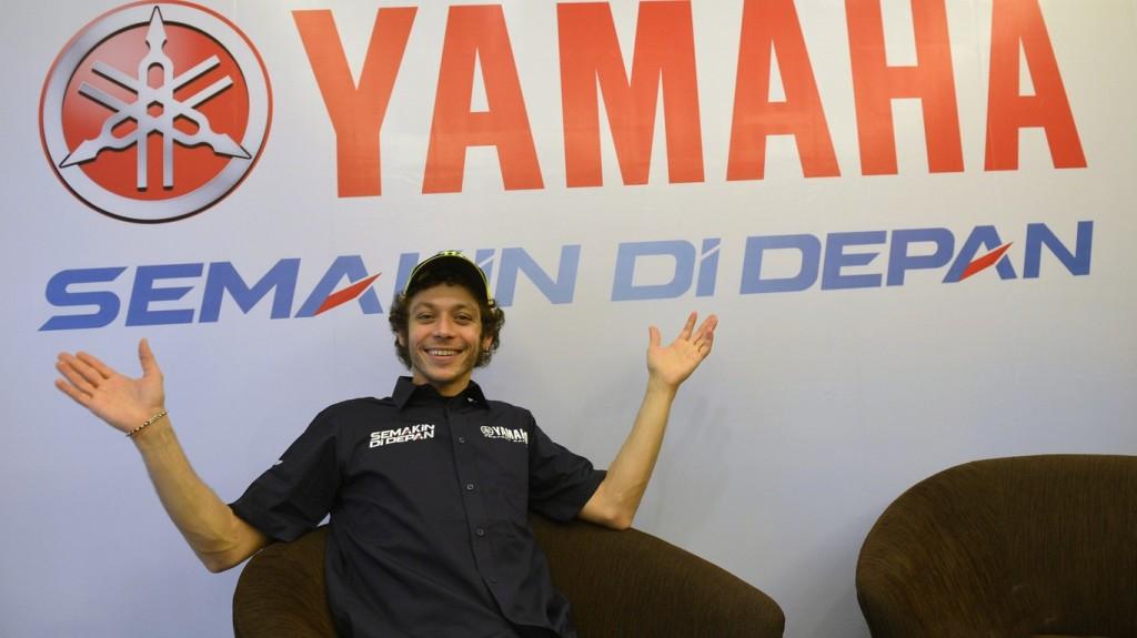 """MotoGP: Valentino Rossi """"Sono eccitato, voglio tornare a vincere ma in Qatar va bene un podio"""""""