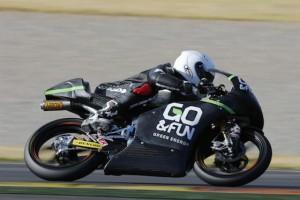 Moto3: Danny Webb il più veloce sotto la pioggia di Jerez