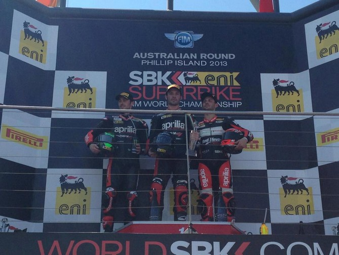 Superbike Phillip Island: Due ottime gare con un podio in gara 1 per Michel Fabrizio