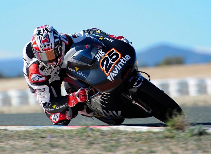 Moto3: Maverick Vinales è il più veloce del Day 2 dei test di Jerez