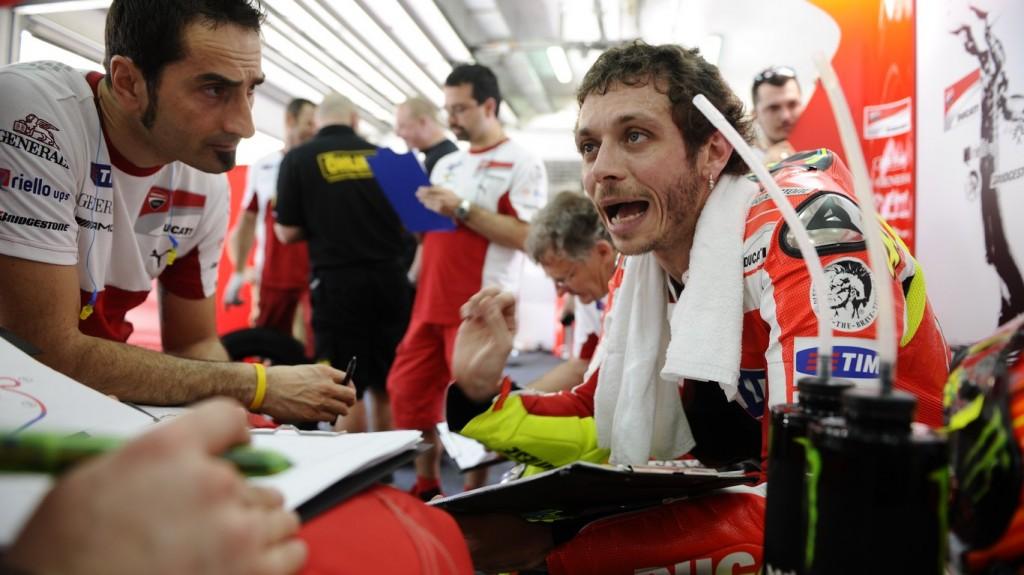 """MotoGP: Valentino Rossi """"In Ducati non sopportano i piloti che dicono che ci sono problemi sulla moto"""""""