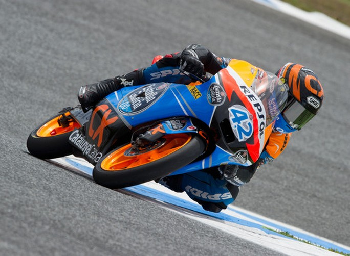 Moto3: A Rins la prima sessione di test Irta di Jerez de la Frontera