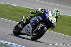 MotoGP: Valentino Rossi torna in vetta, suo il miglior crono del Day 2 dei test di Jerez