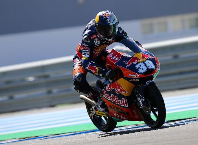 Moto3: Luis Salom chiude al comando i test Irta di Jerez, dominio KTM