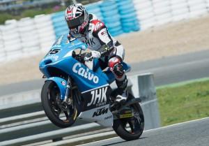 Moto3: Test Irta, Nonostante la caduta Vinales rimane in testa al Day 3 di Jerez