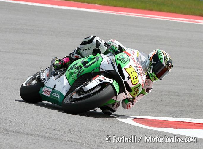 "MotoGP Austin Gara:  Alvaro Bautista ""Mi aspettavo un'altra gara"""