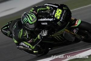 MotoGP Qatar, Warm Up: Crutchlow precede Lorenzo e Pedrosa, Rossi è 4°