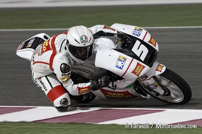 """Moto3 Qatar, Prove Libere: Romano Fenati """"Abbiamo problemi di ciclistica"""""""