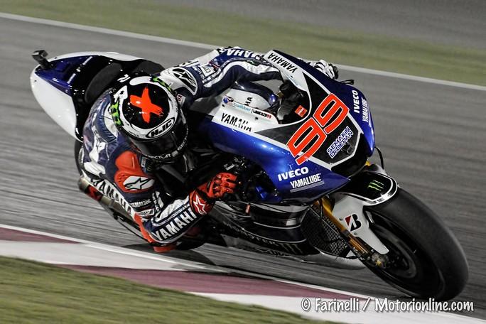 """MotoGP Qatar, Qualifiche 2: La prima pole """"time attack"""" va a Jorge Lorenzo, delude Rossi"""