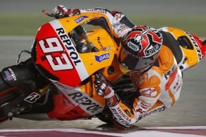MotoGP Qatar, Prove Libere 3: Zampata di Marquez, suo il miglior tempo davanti a Lorenzo e Crutchlow, Rossi 4°