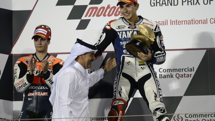 MotoGP: I numeri del primo GP della stagione 2013 che si disputerà in Qatar