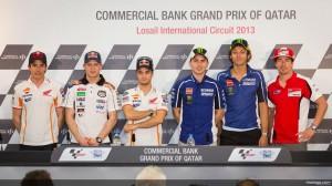 MotoGP: La conferenza stampa pre-gp del Qatar