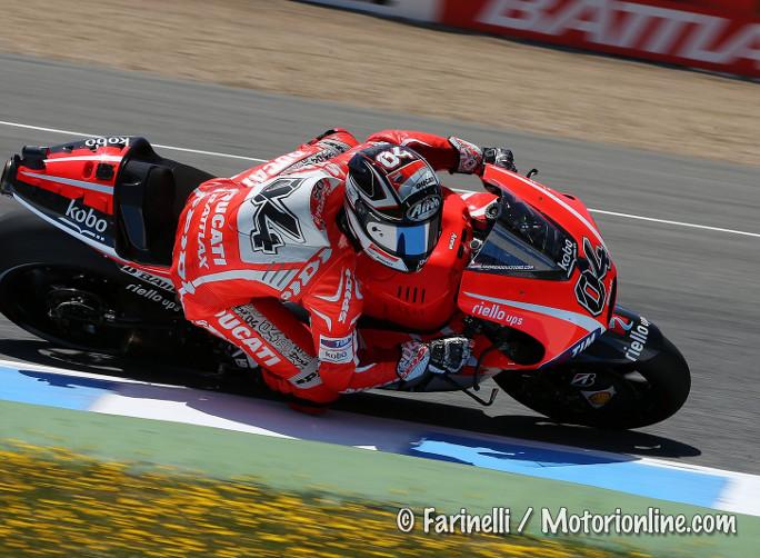 """MotoGP Jerez Test, Andrea Dovizioso: """"Questo è il primo vero cambiamento di quest'anno"""""""