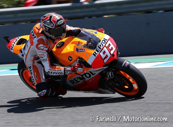 """MotoGP Jerez Test, Marc Marquez: """"Siamo stati concreti, è questo l'importante"""""""
