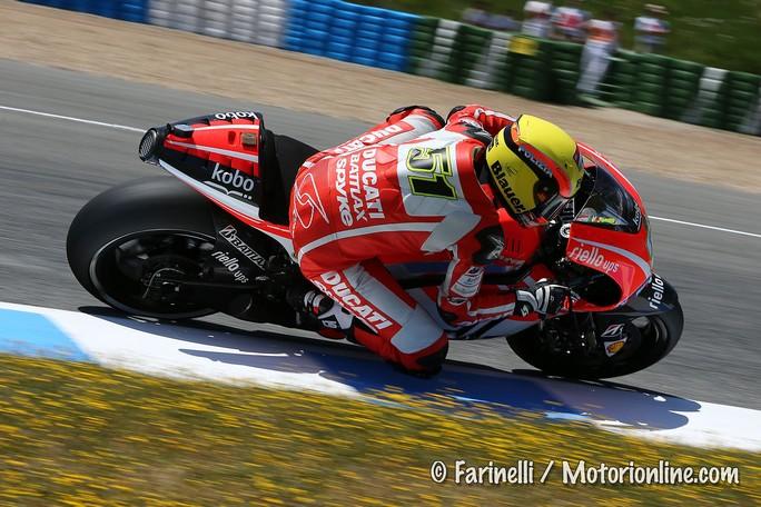 """MotoGP Jerez: Michele Pirro """"E' stata la prima gara della stagione e non è stata facile"""""""