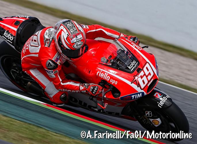 "MotoGP Barcellona Test. Nicky Hayden: ""Volevamo fare un passo avanti"""